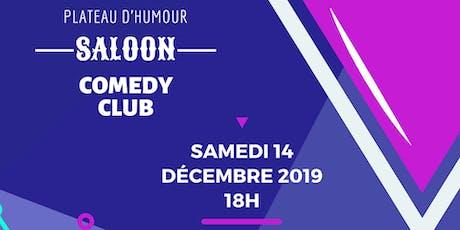 Saloon Comedy CLub tickets