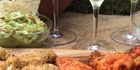 Wine and Football Appetizer pairing class tickets