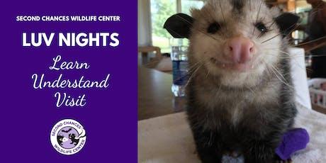 LUV Night Wildlife Encounter - DEC. 29, 2019 tickets
