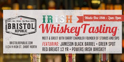 Irish Whiskey Tasting by Jameson