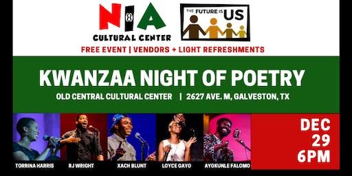 Kwanzaa Night of Poetry
