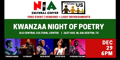 Kwanzaa Night of Poetry