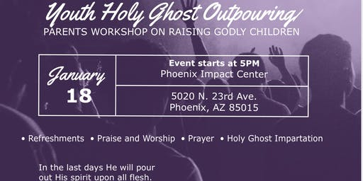 Youth Holy Ghost Outpouring