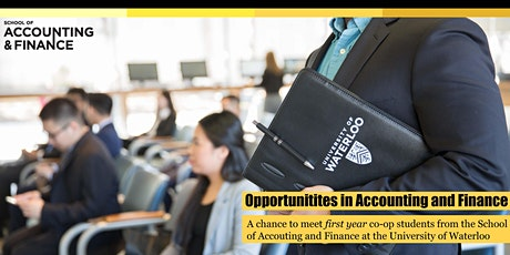 Opportunities in Accounting and Finance  tickets