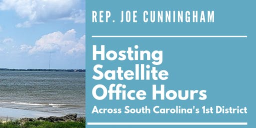 Rep. Cunningham's Summerville Satellite Office Hours