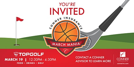 March Mania tickets