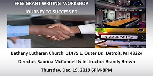 Free GrantWriting Workshop:The beginning process