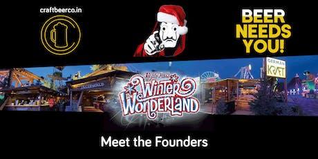 'Meet The Founders' meets 'Winter Wonderland' tickets