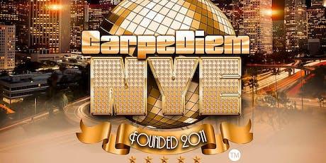 The 2020 Carpe Diem New Years Eve tickets