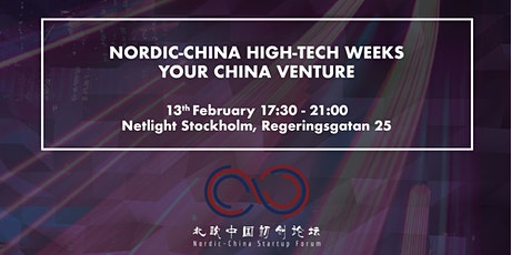Nordic-China High-Tech Weeks - Your China Venture tickets