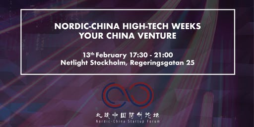 Nordic-China High-Tech Weeks - Your China Venture