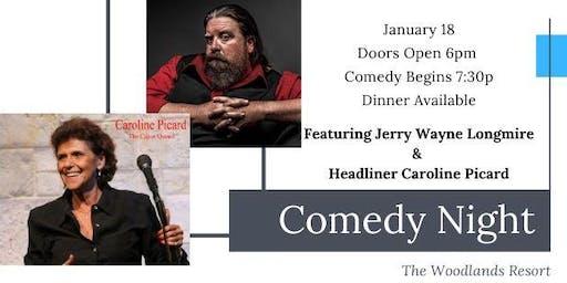 Comedy Show starring Caroline Picard & Jerry Wayne Longmire