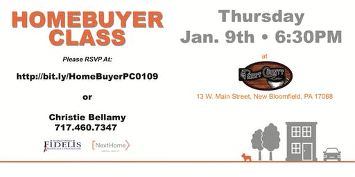 FREE HomeBuyer Class - Perry County