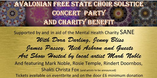 Avalonian Free State Choir Charity Concert