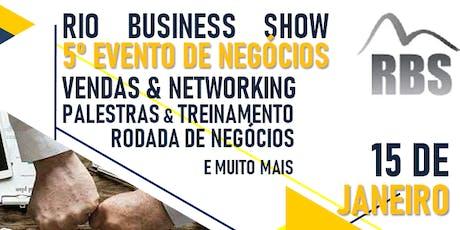 RIO BUSINESS SHOW 2020 ingressos