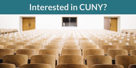 CUNY Information Session tickets