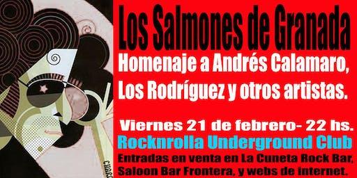 LOS SALMONES de Granada regresan a la Rocknrolla Club!