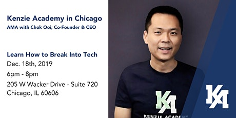 Kenzie Academy in Chicago: AMA with Chok Ooi, Co-Founder & CEO tickets