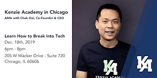 Kenzie Academy in Chicago: AMA with Chok Ooi, Co-Founder & CEO
