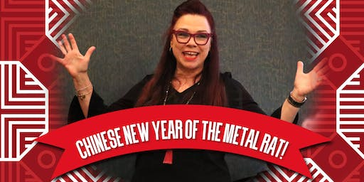 Chinese New Year Workshop! Learn & Celebrate the energy of the Metal Rat!