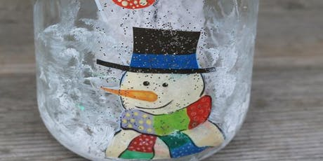 Kids Painting Snowman in a Jar tickets