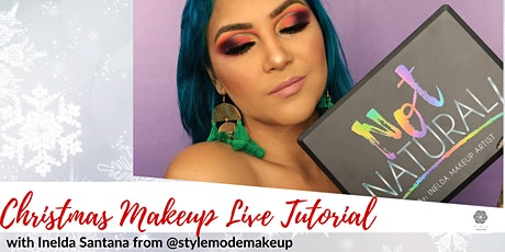 Christmas Makeup Live Tutorial with Inelda Santana at Kindness Collection tickets