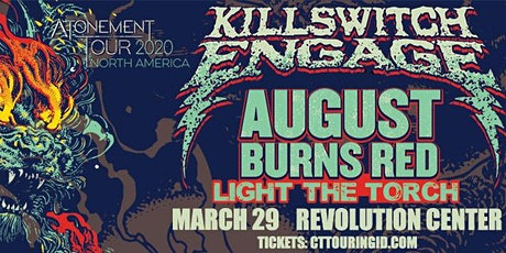 Killswitch Engage: Atonement Tour North America 2020 tickets