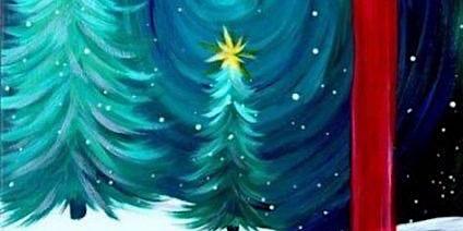Wine + Paint: Ohhhhhh, Christmas Tree!