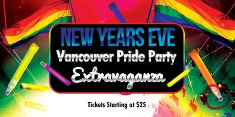 New Years Eve Pride Party Extravaganza Vancouver 2020 tickets