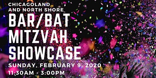 Chicagoland and North Shore Bar/Bat Mitzvah Showcase