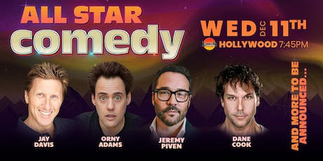 Dane Cook, Jeremy Piven, and more - All-Star Comedy tickets
