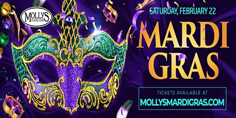 MARDI GRAS - 2020 @ Molly's In Soulard - THE party!! tickets