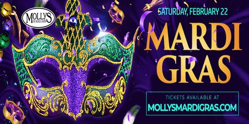 MARDI GRAS - 2020 @ Molly's In Soulard - THE party!!