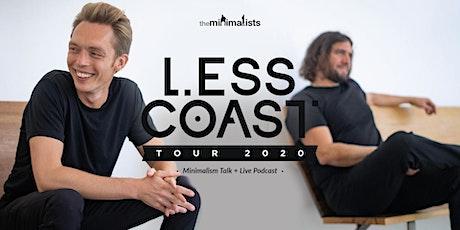 THE MINIMALISTS: Less Coast Tour tickets