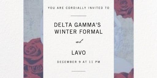 Delta Gamma Winter Formal