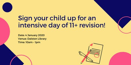 11+ Intensive Revision Class tickets