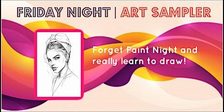 Friday Night Art Sampler tickets