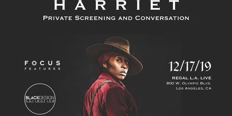 Black Design Collective Private Harriet Screening and Q&A tickets