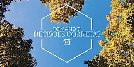 Sem. Tomando Decisões Corretas | Fevereiro de 2020 | RJ ingressos