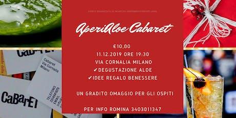 AperiAloe Cabaret biglietti