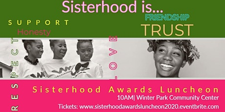 2020 Sisterhood Awards Luncheon tickets