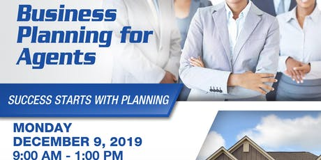 HBREA Presents Business Planning for Agents tickets