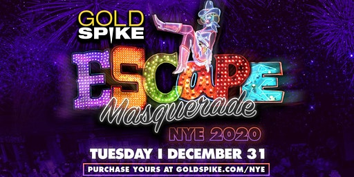 New Years Eve Escape Masquerade Party