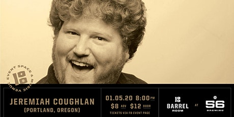 Barrel Room Comedy | Jeremiah Coughlan with His Funny Friends tickets