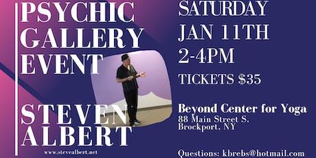 Steven Albert: Psychic Gallery Event - Beyond Yoga1/11 tickets