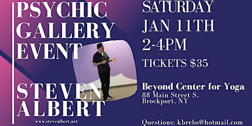 Steven Albert: Psychic Gallery Event - Beyond Yoga1/11