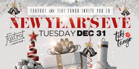 New Years Eve at Tiki Tango & Foxtrot Liquor Bar tickets