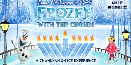 YJRF Frozen with the Chosen a Chanukah on Ice Experience tickets
