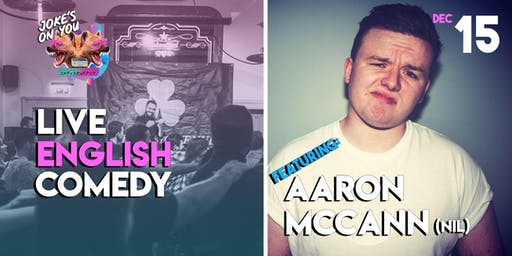JOY Presents: Aaron McCann LIVE!