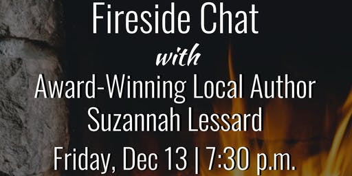 Fireside Chat with Local Author Suzannah Lessard